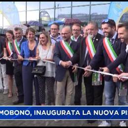 Si nuota in valle Imagna: inaugurata la piscina di Sant'Omobono Terme