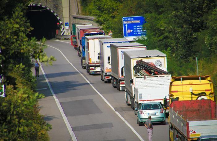 Traffico nel caos
