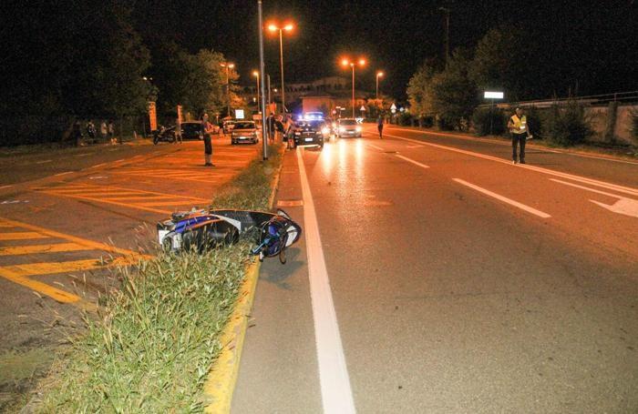 L'incidente di sabato sera a Seriate nei pressi delle piscine