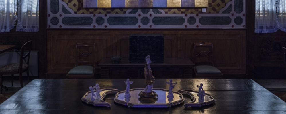 Il design di Clino Trini Castelli a Villa Grismondi Finardi