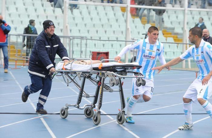 I soccorsi durante il malore a Pescara