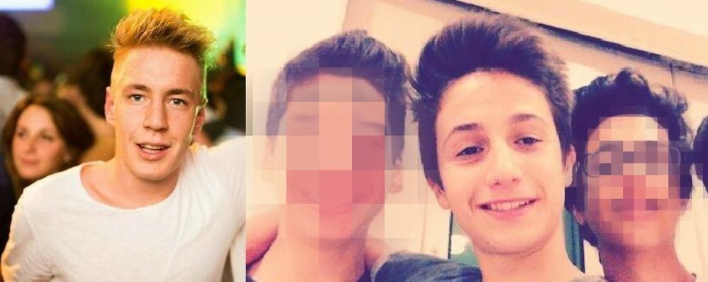 Samuele e Aramis, il dolore degli amici «Non vi dimenticheremo mai»