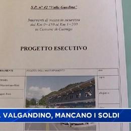 Strada della Valle Gandino, mancano i soldi della Provincia