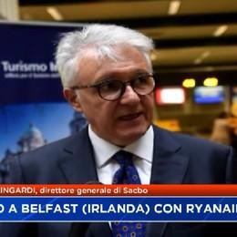 Da Orio a Belfast con Ryanair