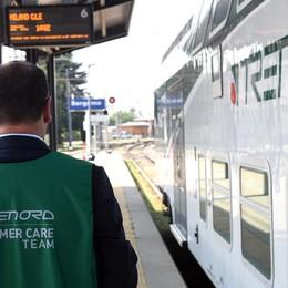 Controllo dei biglietti in stazione Su mille persone irregolare il 10%