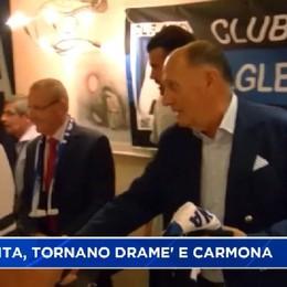 Petagna e Caldara al Club Amici Atalanta Costa Valle Imagna