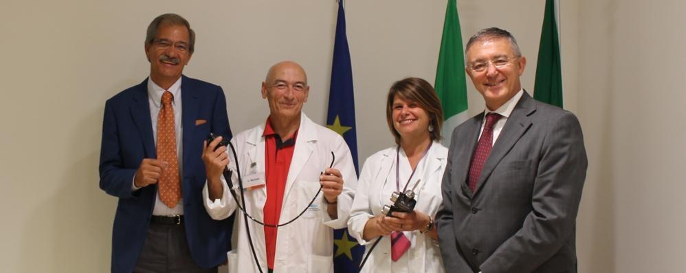 Tumori ai polmoni, una nuova arma al «Papa Giovanni» grazie all'Aob