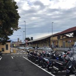 In stazione nuovo parking moto - Video  Città Alta, accesso alle due ruote nelle Ztl