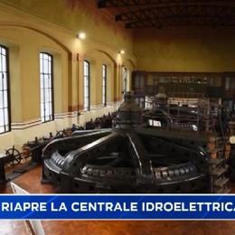 Crespi D'Adda, tra storia e modernità: riapre la centrale idroelettrica