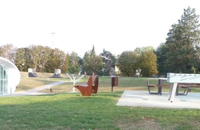 Il nuovo parco al Orio al Serio