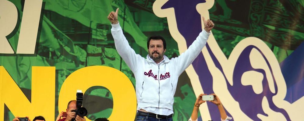 Salvini: mai servi, neanche di Berlusconi  «Cambieremo la Costituzione» - foto