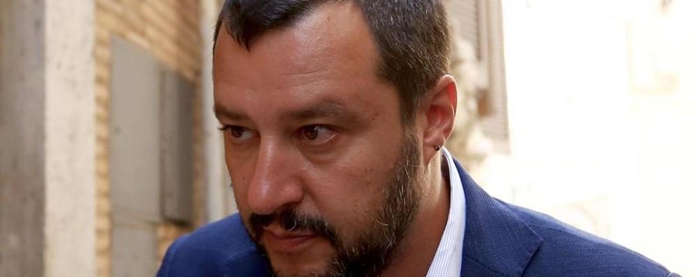 Salvini riparte da Pontida «La Lega pronta a fare da sola»
