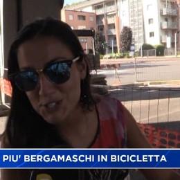 Bergamo, i ciclisti chiedono più piste ciclabili