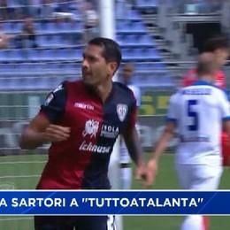 Cagliari-Atalanta 3-0, doppietta di Borriello e gol di Sau