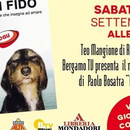 «Io mi fido», il nuovo libro di Paolo Bosatra Una storia di un'amicizia tra uomo e cane