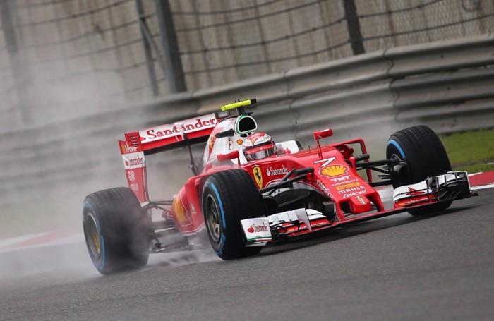 Raikkonen sulla Ferrari
