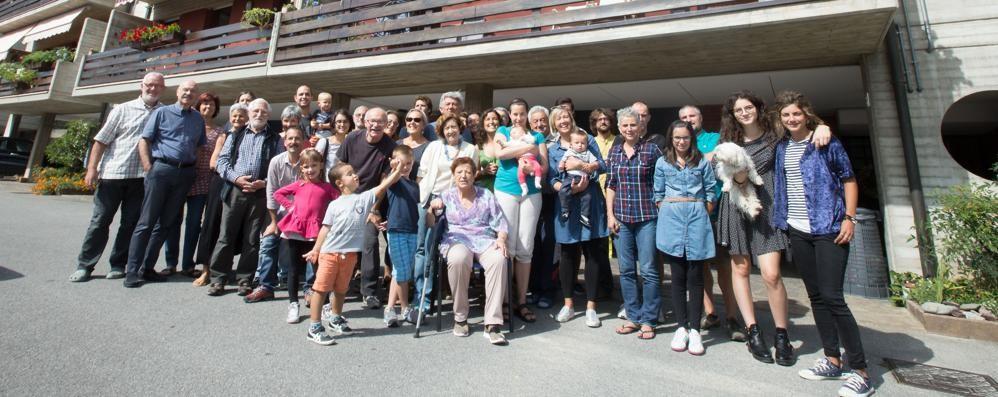 Ecco il condominio della concordia Ad Albino 31 anni insieme senza liti