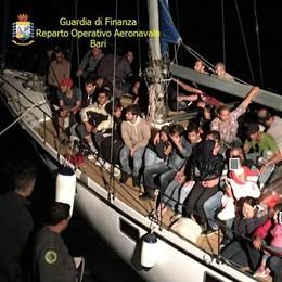 Migranti, più di 300mila arrivi via mare