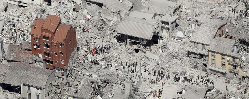 Rinascere dopo il terremoto di agosto Anche gli architetti bergamaschi in azione