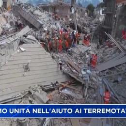 Terromoto, Bergamo unita negli aiuti