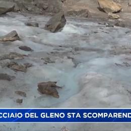 Cambia il clima e il ghiacciaio del Gleno si scioglie