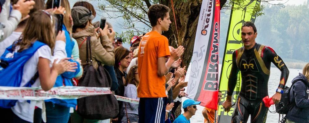 Domenica lo spettacolo del triathlon tra la Val Cavallina e la Val Seriana