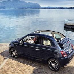 Fiat e Alfa  a Parigi  Al Salone la 500 Riva