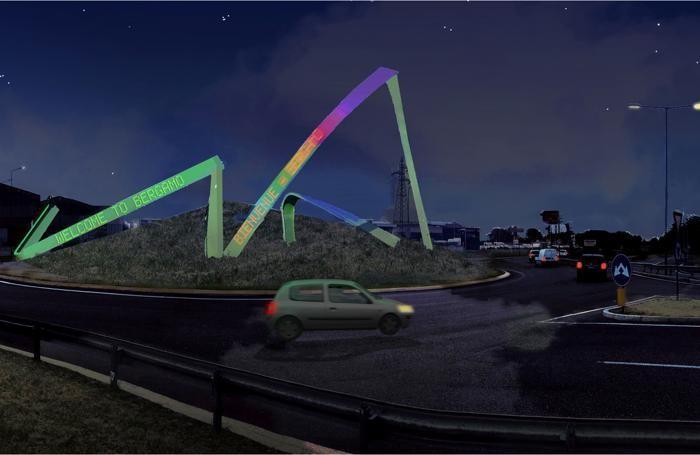 Il progetto per via Autostrada