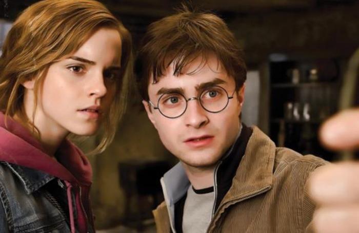 Emma Watson e Daniel Radcliff ovvero Harry Potter