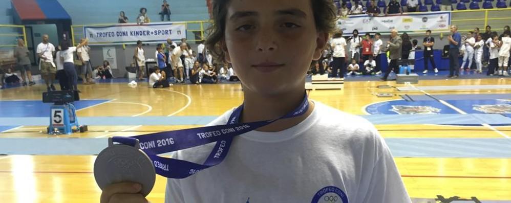 Marco Locatelli, una spada d'argento Conquistato il podio al Trofeo  Coni