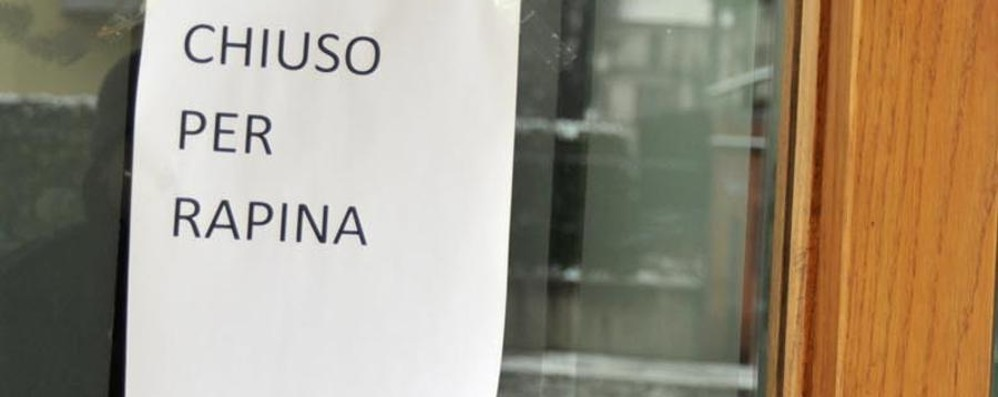 Rapina in banca a Paladina Dipendenti chiusi in bagno