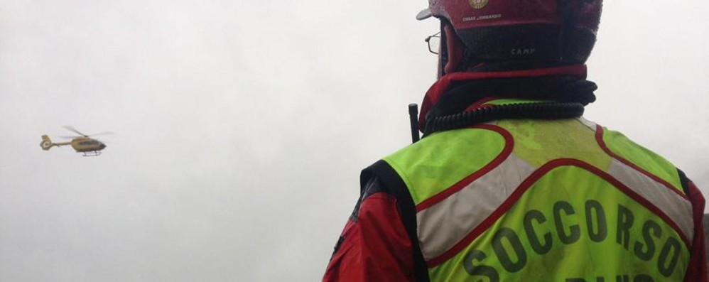 Ritrovato l'uomo disperso in Val Vertova Notte al freddo dopo una ferita alla testa