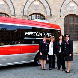 Le Ferrovie investono... sui bus Arriva il Freccialink Bergamo-Milano