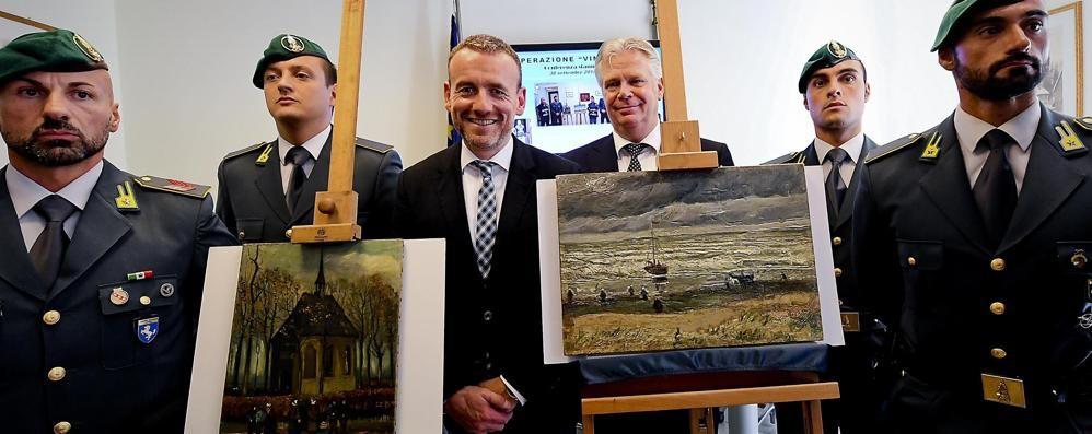 Recuperati due Van Gogh rubati Erano in mano alla camorra