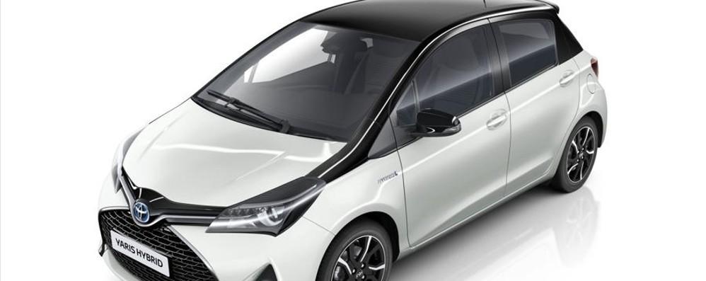 Toyota Yaris, arriva  la Trend White Edition