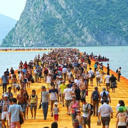 La Guardia di Finanza in Regione Acquisiti i documenti di «Floating Piers»