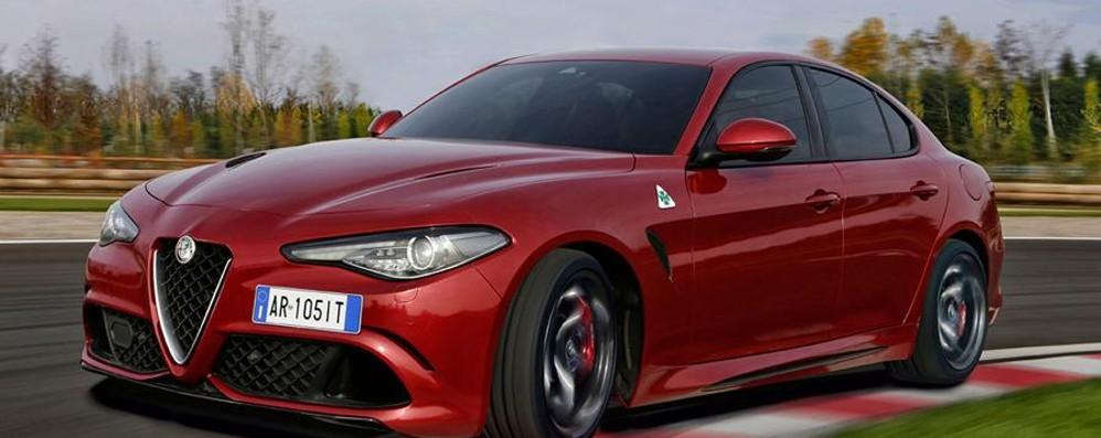 Ecco l'Alfa Romeo da record Giulia Quadrifoglio da 510 cavalli