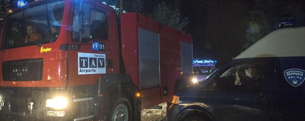 Il Piper precipitato in Macedonia Veneti e friulani i 6 italiani morti