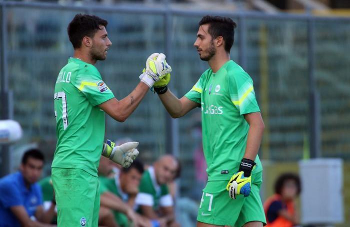 Marco Sportiello ed Andrea Consigli