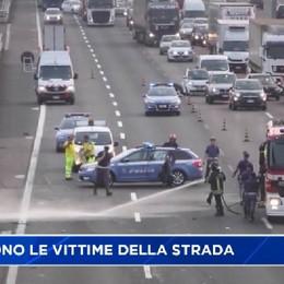Vittime della strada: numeri in crescita anche a Bergamo
