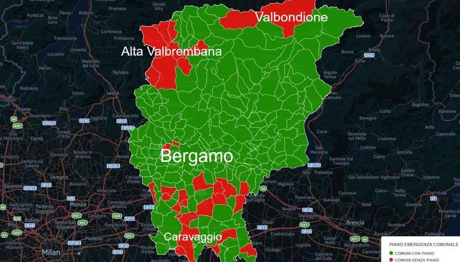 Piano Di Emergenza Terremoti Tanti Comuni Non In Regola Mappa