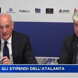 Calcio, gli stipendi dell'Atalanta