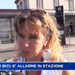 Furti di biciclette - Video È allarme in stazione