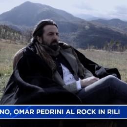 Chiuduno. Omar Pedrini al Rock in Rili