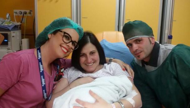 Capodanno: sarda la prima nata in Italia