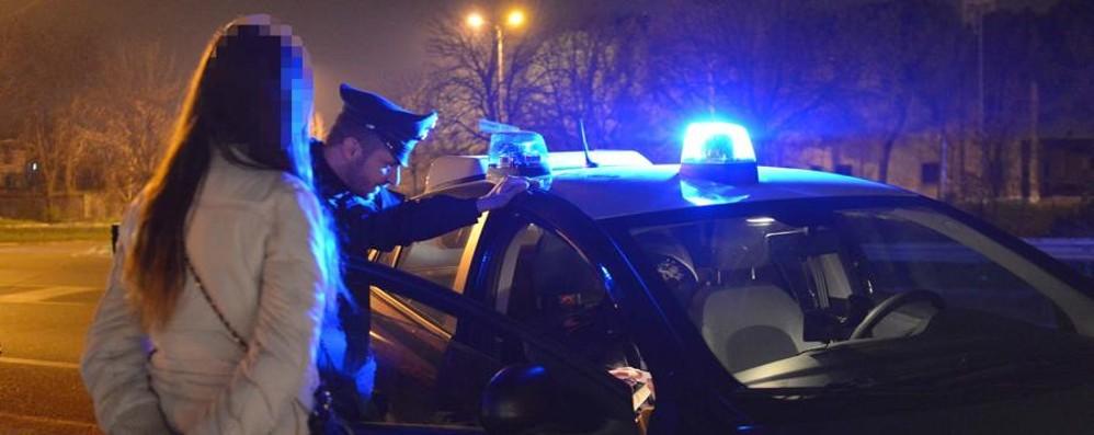 Blitz anti-prostituzione a Zingonia Cinque denunce e multe ai clienti
