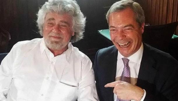 Farage, com M5S avanti nel gruppo Efdd