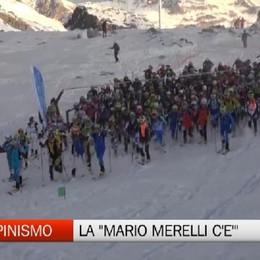Sci alpinismo, la «Mario Merelli c'è» sulla cima del Presena