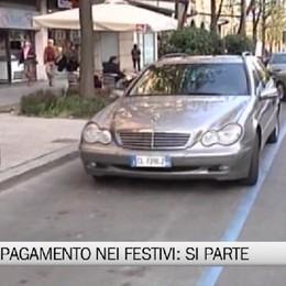 Bergamo - Sosta a pagamento nei festivi, si parte