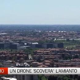 Bergamo - Un drone 'scoverà' l'amianto